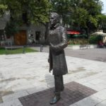 Kazinczy Ferenc szobra, Sátoraljaújhely (Borsi Antal művésztanár szobra)