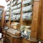 Látogatás a Magyar Nemzeti Levéltár Sátoraljaújhelyi Fióklevéltárának barokk-klasszicista levéltári termeiben (ún. Archívum)