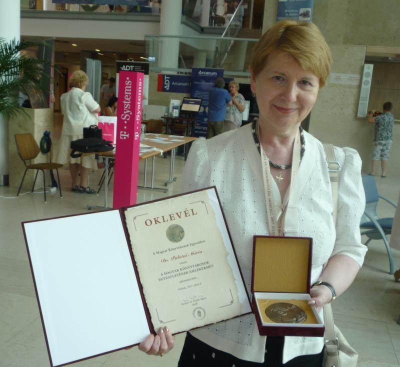 Dr.Palotay Mária kitüntetéséhez gratulálunk