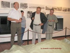Kobaridi Múzeum: Az isonzói csaták makettje