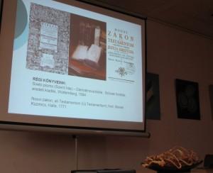 Muraszombati könyvtár bemutatása