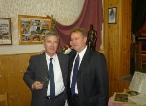 Vitt Sándor és Nagy Zoltán a további együttműködésről beszélve búcsúzott (Foto: Tolnai)