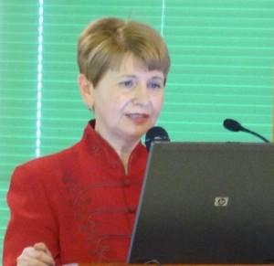 Dr. Palotai Mária beszámolója