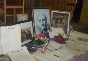 Kiállítás Herczeg Ferencről a Petőfi Sándor Kultúregyesületben (Fotó: Nagy Zoltán)