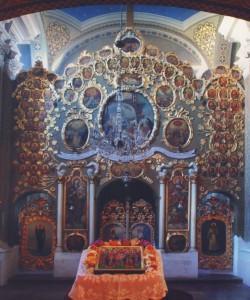 A verseci püspöki palota kápolnája (másolat a kiadott albumból)