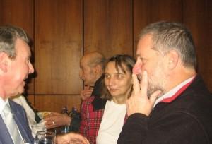 Schön György a verseciek képviseletében vett részt a Luca napi taggyűlésünkön
