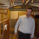 Dr.Horváth Attila Levente a raktárakban vezeti csoportunkat