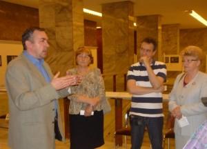 Lipthay Endre ismerteti a Corvinákat
