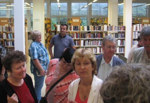 A könyvtár megtekintése