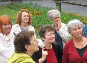 Dr.Pintérné Kék Krisztina elnöknő a háttérből iurányítja csoportunkat