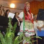 Ünnepi műsor a Kultúregyesület szinpadán