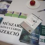 Kiadványok az MKSZ tájékoztató asztalán