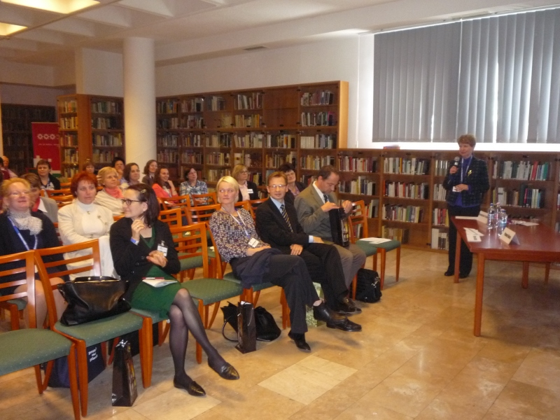 Dr.Palotay Mária szekció elnök