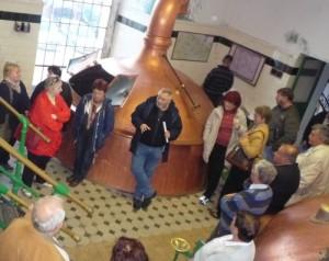 Kelemen ismerteti a régi sörgyár történetét