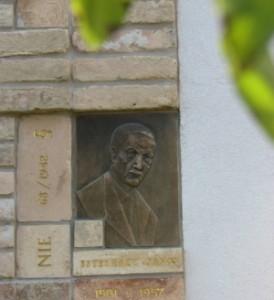 Esterházy János emlékhelye Dunaszerdahelyen