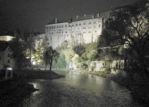 Éjszakai séta Krumlovban