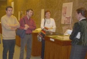 A Fitz kiállításon