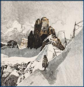 Hegyvidéki táj. 1916 Kép a kiállításról