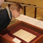 A Himnusz eredeti kézirataának megtekinése