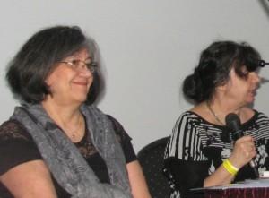 Bánfi Szilvia és V.Ecsedi Judit bemutatja közös könyvüket