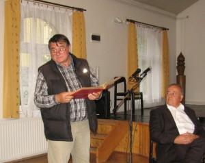 Volmuth Péter Herczeg Ferencről beszél
