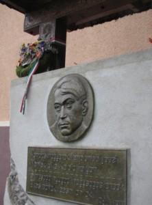 Ady Endre emlékhely Kalotaszentkirályon