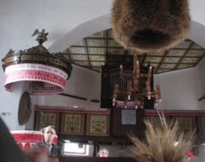 A kalotaszentkirályi templomban