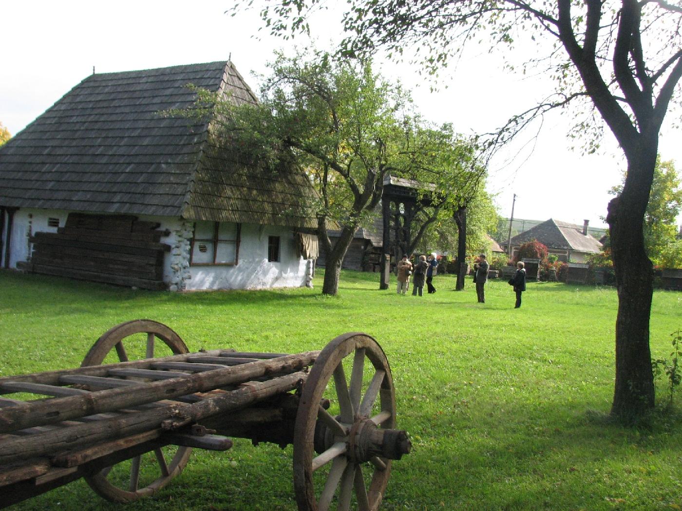 A Néprajzi Múzeum skanzenje Csernátonban