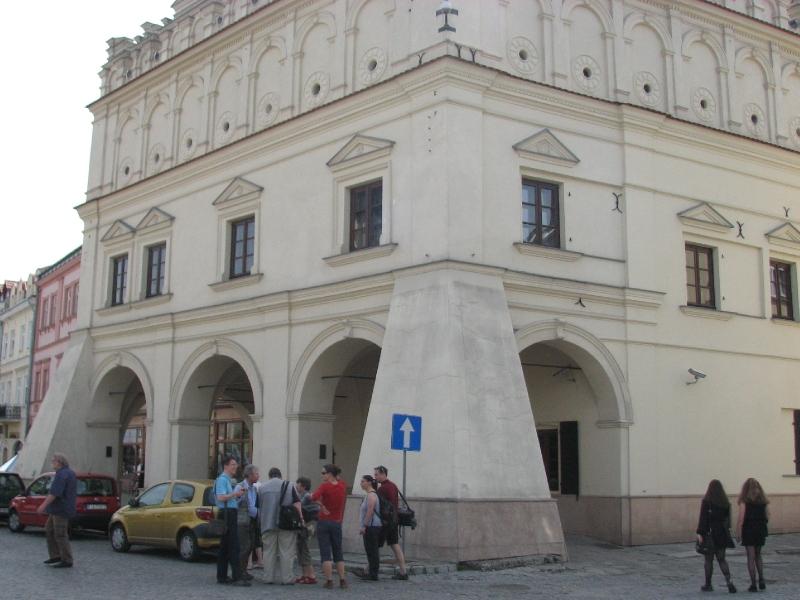 II.Rákóczi Ferenc találkozóhelye a lengyel királlyal  és az orosz cárral