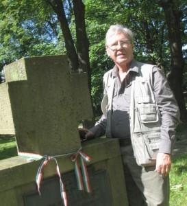 Csoportunk nevében Nagy Zoltán emlékezik hőseinkre