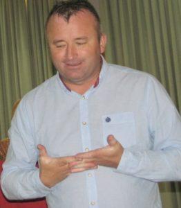 Andócs János igazgató úr bemutatta az iskolát,