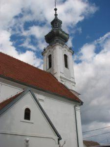 A református templom Harasztiban