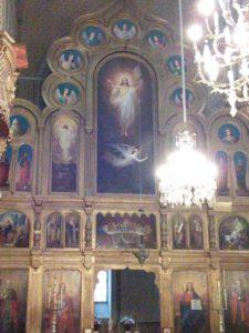 Krisztus az ikonosztázon