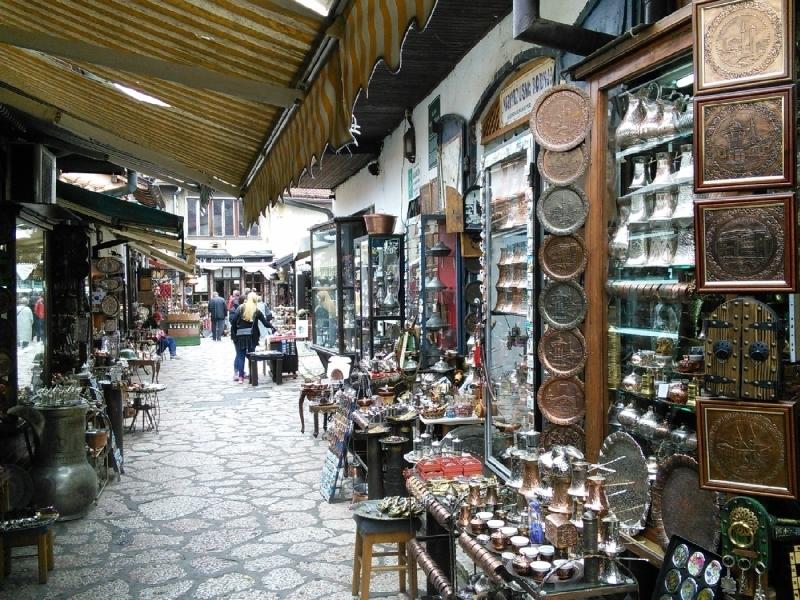A Bascsarsijan - keleti vásár