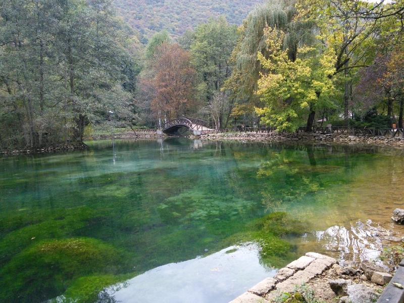 Szarajevo - a Boszna folyó forrásánál