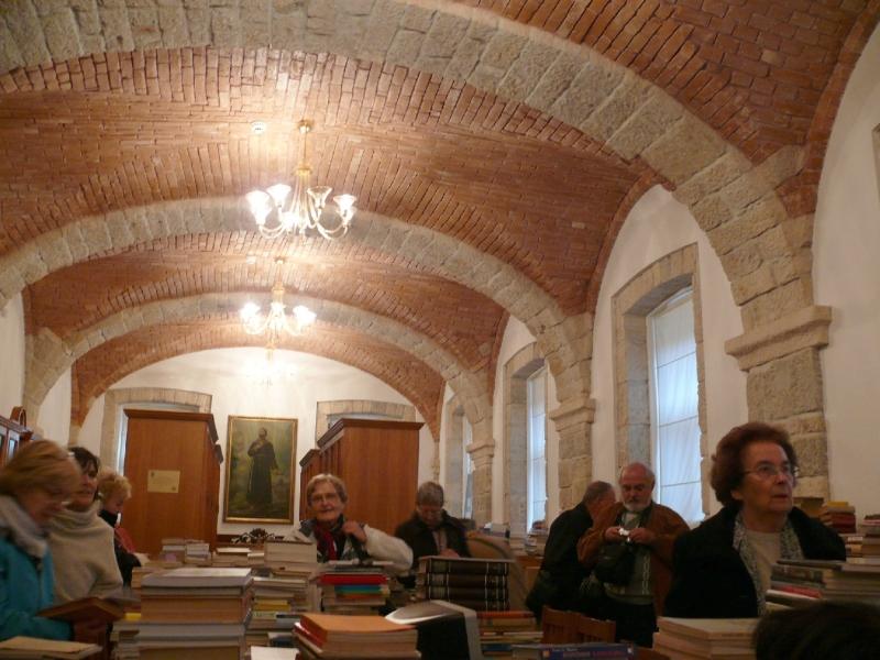 A megmentett ferences könyvtár Bosznia legnagyobb keresztény könyvtára