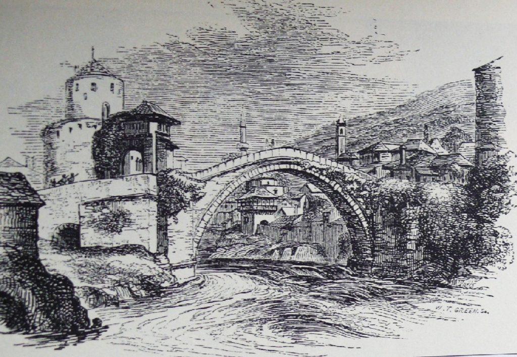 A régi Mosztár-híd