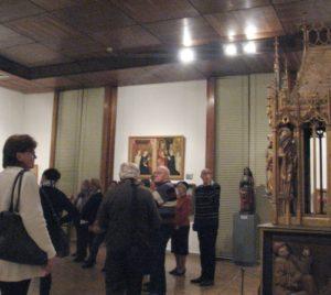 Csoportunk megtekinti a Keresztény Múzeumot