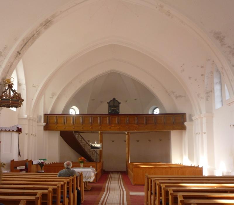 Kórógy megújult templomában
