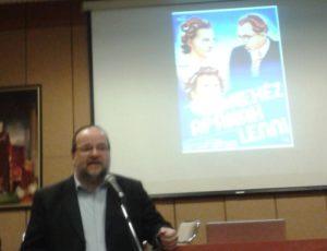 Horváth Sándor Domonkos ismerteti a kötet megjelentetését