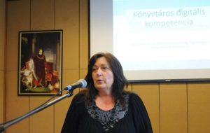 Eszenyiné Borbély Mária beszámol a kompetencia felmérésről