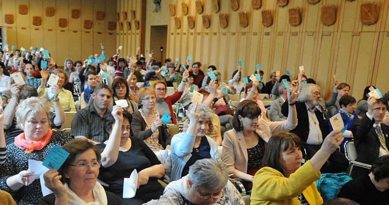 A Küldöttközgyűlés elfogadja a beszámolókat