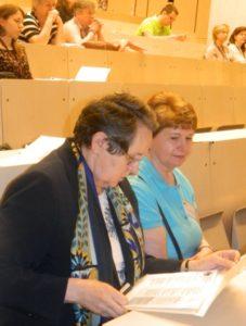 Prof.Dr Ádány Róza és Dr.Palotay Mária