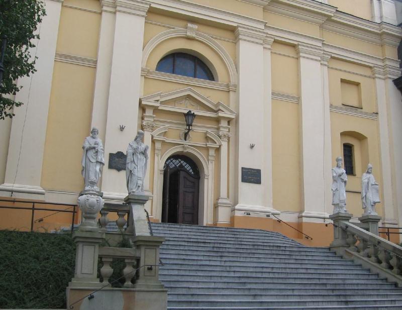 A jezsuita székesegyház Przemyslben