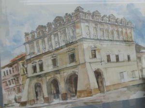 Festmény az Orsetti házról, Rákóczi találkozójának színhelye