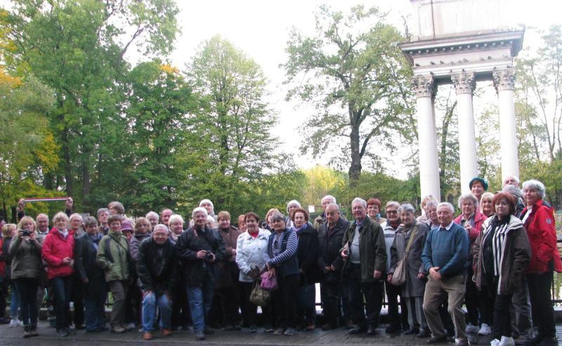 Csoportunk Bem József tábornok síremlékénél Tarnowban