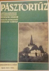 Szabó Dénes a Pásztortűz című folyóirat fényképésze
