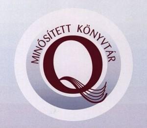 Minősített Könyvtár logó