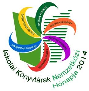 Iskolai Könyvtárak Nemzetközi Hónapja logó
