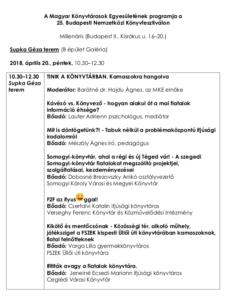 2018_Konyvtarosklub_program